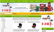 E-shop, tvorba e-shopu: klap.cz