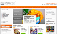 E-shop, tvorba e-shopu: mobytex.com