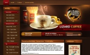 Tvorba a pronájem e-shopu: lizardcoffee.cz