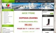 Tvorba a pronájem e-shopu: zmesta.cz