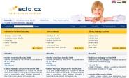 Webdesign: scio.cz