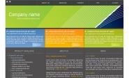 Webdesign: trojbarevna-sablona