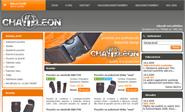E-shop, tvorba e-shopu: chameleon-fabrics.cz