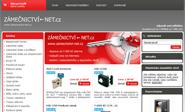 E-shop, tvorba e-shopu: zamecnictvi-net.cz