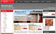 E-shop, tvorba e-shopu: dominart.cz