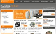 E-shop, tvorba e-shopu: nabytek-jensen.cz
