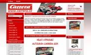 Tvorba a pronájem e-shopu: carrera.cz