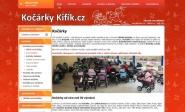 Tvorba e-shopu, redesign: kifik.cz