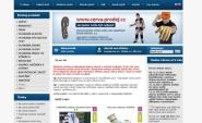 Tvorba a pronájem e-shopu: cerva-prodej.cz
