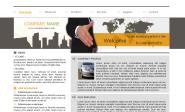 Webdesign: firemni-sablona