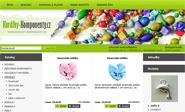E-shop, tvorba e-shopu: koralky-komponenty.cz